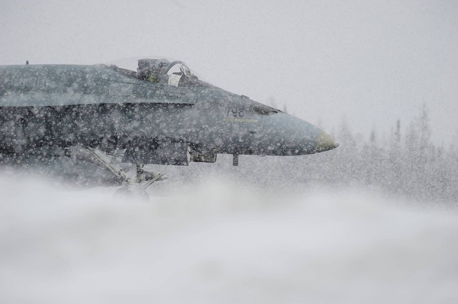 No cold weather tests and fly off among candidates for Canadian new fighter jet