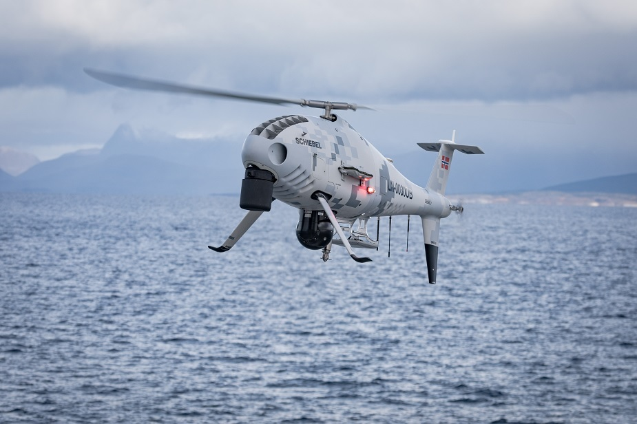 Schiebel Camcopter S 100 deployed for river pollution crisis in Malaysia