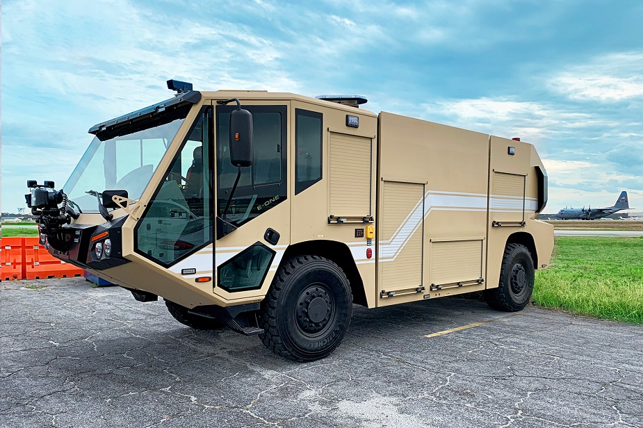 E ONE delivers air transportable ARFF vehicles to US Air Force