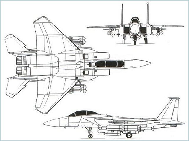 F-15E Strike Eagle air-to-ground attack fighter aircraft technical data sheet specifications intelligence description information identification pictures photos images video Boeing United States American US USAF Air Force aviation aerospace defence industry military technology