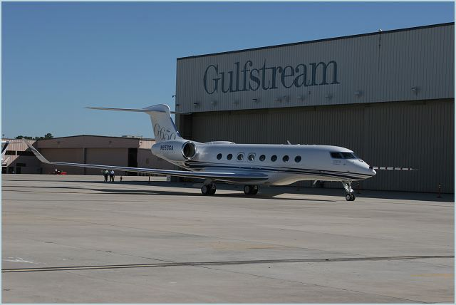 Gulfstream Aerospace Corp. announced today that the Gulfstream G650 has received its provisional type certificate (PTC) from the Federal Aviation Administration. This clears the way for the company to begin interior completions of the ultra-large-cabin, ultra-long-range business jet in preparation for customer deliveries in the second quarter of 2012, as originally planned.