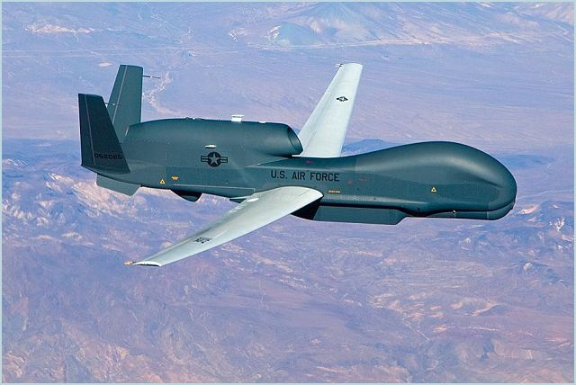 Northrop Grumman Corporation delivered a Global Hawk Block 40 Unmanned Aircraft System (UAS) to the U.S. Air Force at Grand Forks Air Force Base, N.D., ahead of schedule, Feb. 14.