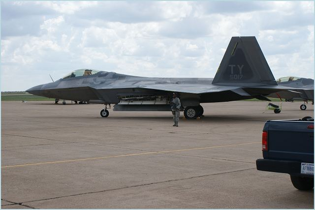 Twelve F-22 Raptors and 300 staff from the US Air Force are to arrive at Kadena Air base in Japan today. That's according to Japan's Kyodo News Agency. The Lockheed Martin/Boeing F-22 Raptor is a single-seat, twin-engine fifth-generation supermaneuverable fighter aircraft that uses stealth technology.