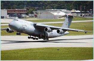 C-5 Galaxy large military transport aircraft data sheet specifications intelligence description information identification pictures photos images video United States American US USAF Air Force Lockheed Martin aviation aerospace defence industry military technology Boeing