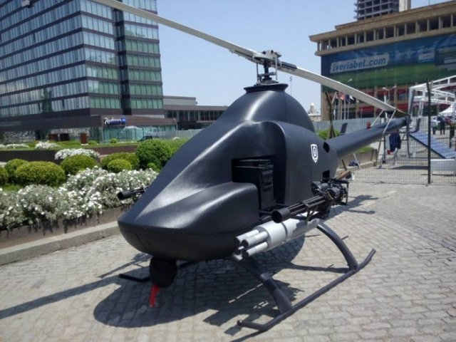 Georgia recently unveiled a new unmanned attack and reconnaissance helicopter produced by the state research and development center Delta. This new UAV has been displayed for the first time on Roses Square in Tbilisi, during Georgia's Independence Day celebration on May 26. Delta, which was established in 2010, was subordinate to the Georgian Ministry of Defense until 2014, but is now controlled by the Georgian Ministry of Economy.