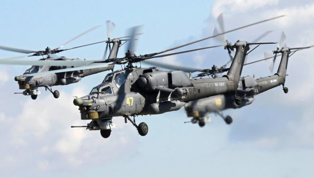 Pakistan and combat helicopters in the war against terrorism 640 003