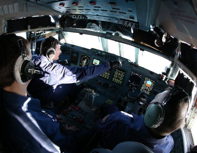 Russian pilots start trainin on new Il 76MD 90Atransport aircraft 640 001