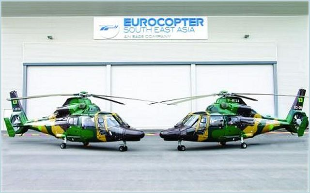 The Bangladesh Army has marked its formal service introduction of two new Eurocopter AS365 N3+ Dauphin helicopters, which will be deployed on United Nations humanitarian missions and operated in multi-role transport duties for the republic.