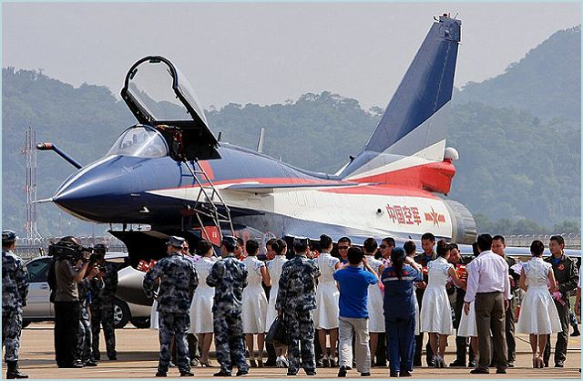 The flight acrobatic team of the People's Liberation Army Air Force (PLAAF) will attend at the Zhuhai Air Show 2012. Since May 2009, the team uses the Chinese-made Chengdu J-10, a multirole fighter aircraft.