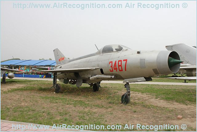 J-7 F-7 Chengdu fighter ground attack aircraft technical data sheet specifications intelligence description information identification pictures photos images video Harbin China Chinese PLA Air Force defence aviation aerospace industry technology