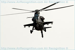 Z-10 WZ-10 attack fighting helicopter technical data sheet specifications intelligence description information identification pictures photos images video CAIC China Chinese PLA Air Force defence industry technology