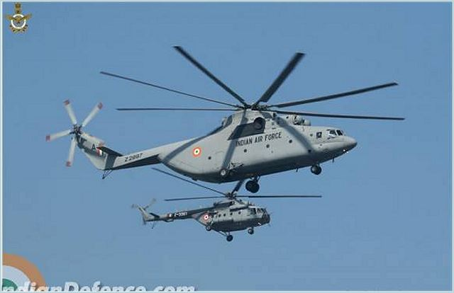 Mi-26 Russian-made military transport aircraft of Indian Air Force