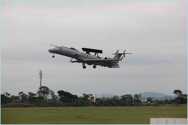 The first fully modified Aircraft for indigenously developed Indian Airborne Warning and Control System EMB-145I (AEW&C) took to skies on 06th December 2011, as part of its first maiden flight in Embraer facilities at Sao Jose dos Campos in Brazil with about 1000 Mission System Components provided by CABS, DRDO.