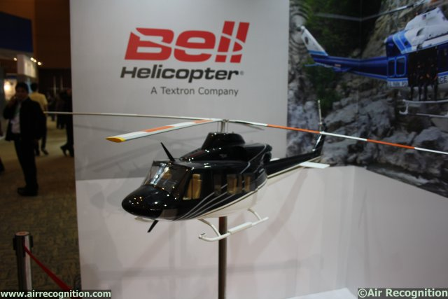 At Indodefence 2014 in Jakarta, Indonesia, Indian company PT Dirgantara (Persero) and Bell Helicopter (Textron Inc) officially announced the signature of cooperation agreements between the two societies. The cooperation agreements concern industrial and commercial agreement and certified maintenance center.