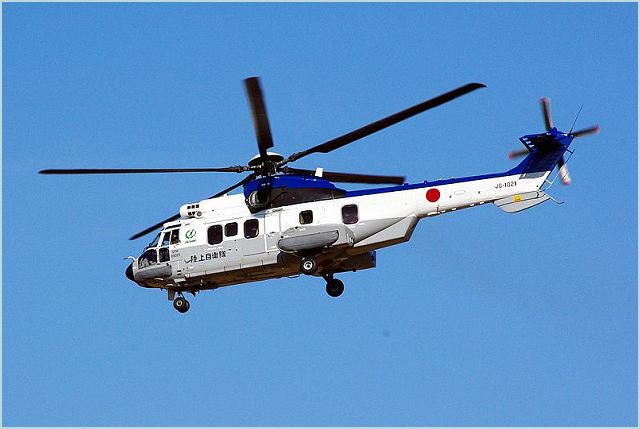 Eurocopter Japan, a subsidiary of Eurocopter Group, will supply one EC225 to the Japan Ministry of Defense, to be operated by the Japanese ground self defense force for passenger transport. It is a replacement for the same helicopter model which was submerged during the earthquake and tsunami that hit Japan in March last year.