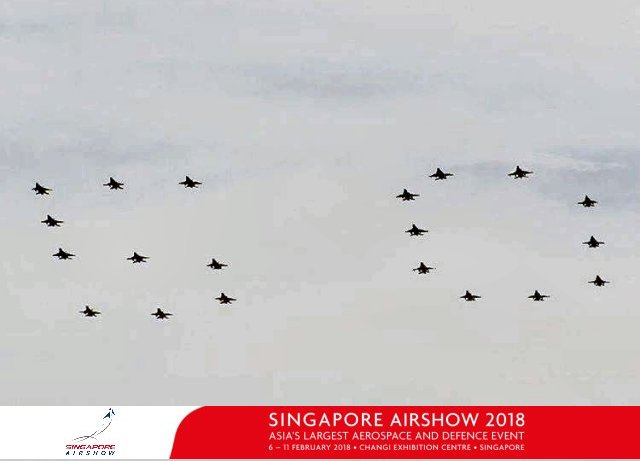 RSAF 50th anniversary celebrations to be launched at Singapore Airshow 2018 640 001