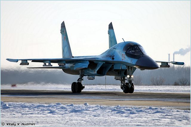 The Russian Defense Ministry has signed a deal for 92 Su-34 Fullback fighter-bombers from the Sukhoi aircraft maker, the ministry said on Thursday, March 1, 2012.
