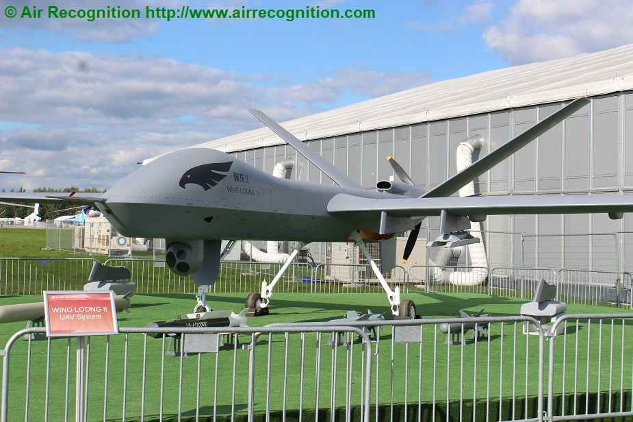 MAKS 2019 Avic displays Wing Loong MALE UAVs II