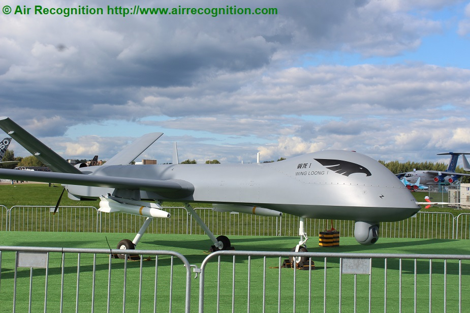MAKS 2019 Avic displays Wing Loong MALE UAVs