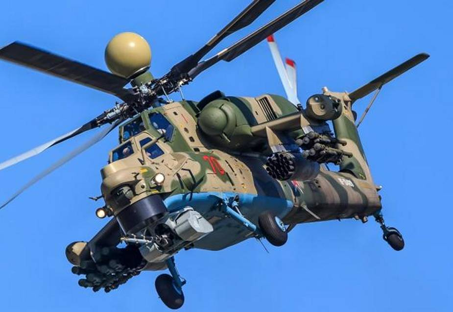 Foreign customers interested in Mi 28NM combat helicopter