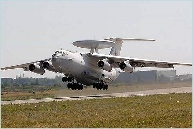 A modernized A-50U airborne warning and control system (AWACS) aircraft entered service with the Russian Air Force on Tuesday, January 17, 2012, Defense Ministry spokesman Col Vladimir Drik said.
