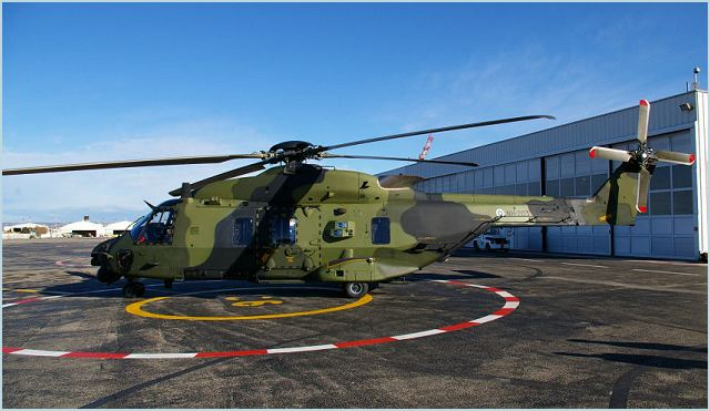 The Finnish Defence Forces and Patria have signed an agreement on ballistic protection for NH90 helicopters. Patria will design and manufacture protective equipment for NH90 helicopters, which can be installed when operations so require. Ballistic protection shields both pilots and transported personnel during airlifts by the Army's NH90 helicopters.