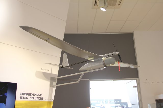 Elbit Systems Introduces Skylark I-LEX Mini UAS at Paris Air Show 2015