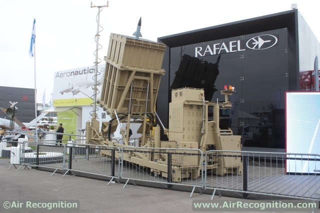 Rafael presents Iron Dome C-RAM and V-SHORAD System at Paris Air Show 2015