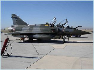 Mirage 2000D multi-role ground attack fighter aircraft technical data sheet specifications intelligence description information identification pictures photos images video France French Air Force aviation aerospace defence industry technology