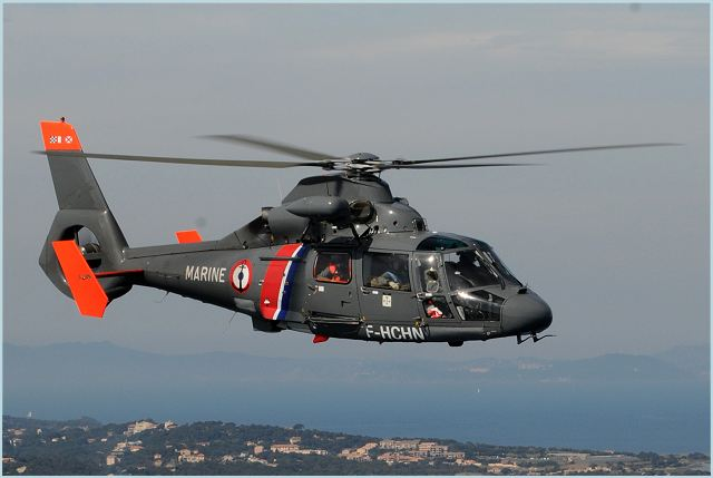 AS365 N3 Dauphin multirole twin-engine helicopter data sheet specifications intelligence description information identification pictures photos images video France French Air Force aviation aerospace Eurocopter defence industry military technology