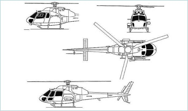 Fennec AS550 Eurocopter light multipurpose helicopter data sheet specifications intelligence description information identification pictures photos images video France French Air Force aviation aerospace defence industry military technology