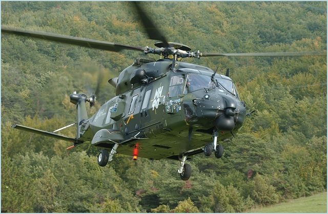 NH90 TTH Tactical Troop Transport helicopter