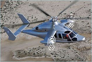 X3 Eurocopter demonstrator hybrid helicopter data sheet specifications intelligence description information identification pictures photos images video France French Air Force aviation aerospace defence industry military technology