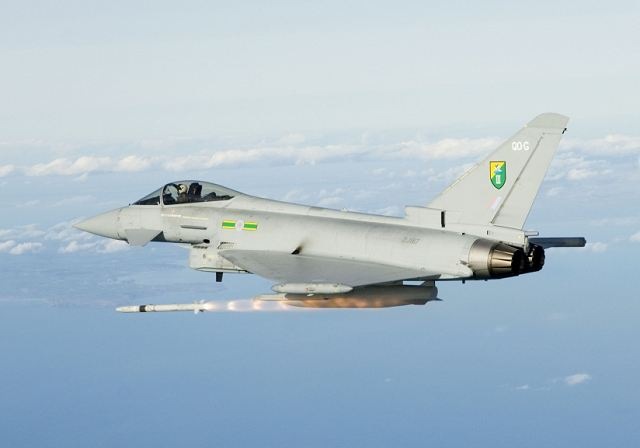 "ASRAAM's unmatched speed and agility guarantees ""first shot first kill"" in short range combat to avoid the need for getting involved in the lottery of a dogfight. This very aerodynamically sleek missile is in service on the UK RAF's Eurofighter Typhoons and the Royal Australian Air Force's F/A 18s."