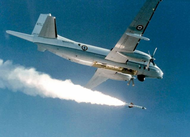 EXOCET probably ranks as the world's best known anti-ship missile. The AM39 version can be launched from Maritime Patrol Aircraft, strike fighters such as the Rafale as well as medium to heavyweight helicopters. Features such as low signature, sea-skimming flight at very low altitudes, late seeker activation, enhanced target discrimination and ECCM combine to make this a redoubtable weapon indeed.