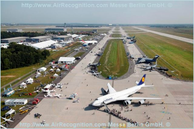 The International Air Show Berlin ILA 2012 is all set to go on its new exhibition grounds. From 11 to 16 September the world's longest-running air show will inaugurate Berlin ExpoCenter Airport, directly adjacent to BER, the capital's future airport, with a record number of exhibitors. 1,243 exhibitors from 46 countries (2010: 1,153/47) will present a wide range of high-tech products, systems and processes from all branches of the aerospace industry at continental Europe's leading aerospace exhibition.