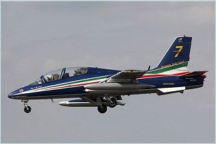 MB-339 advanced trainer light attack aircraft technical data sheet specifications intelligence description information identification pictures photos images video Italy Italian Air Force Alenia Aermacchi aviation aerospace defence industry technology
