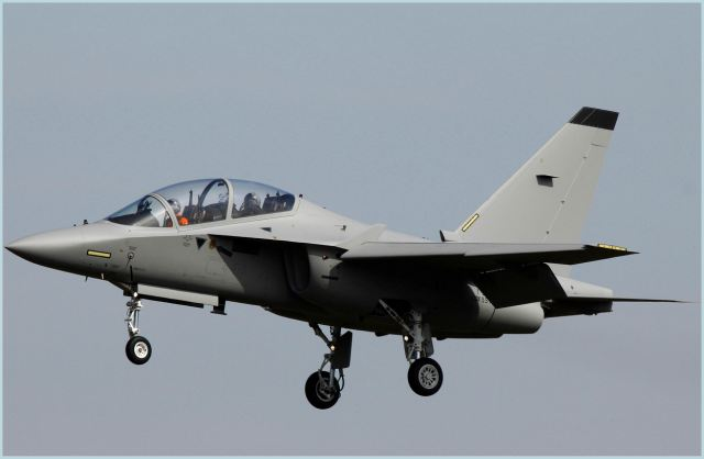 The General Directorate of Air Armaments (DGAA) in Rome was the venue for the acceptance ceremony for the T-346A, the first aircraft of the M-346 series, built by Alenia Aermacchi (a Finmeccanica company).