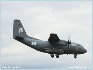 C-27J Spartan military transport aircraft technical data sheet specifications intelligence description information identification pictures photos images video Italy Italian Air Force defence industry technology