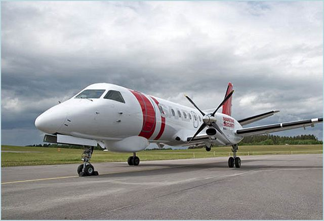 Defence and security company Saab is unveiling its new Saab 340 Maritime Security Aircraft at the Farnborough International Airshow. The aircraft is capable of effectively monitoring large areas and is the key to maritime domain awareness.