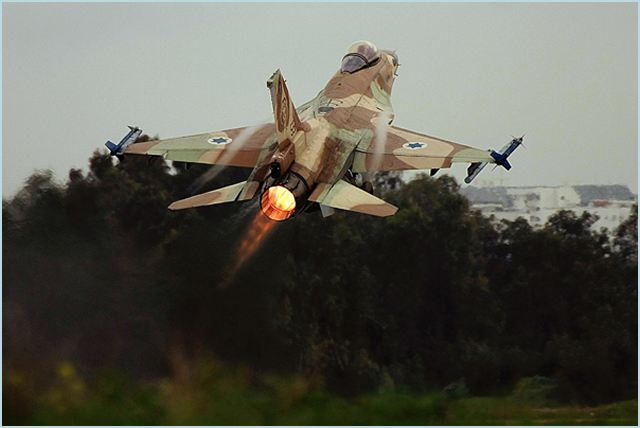 In response to more then 22 rockets fired at Israel, IAF (Israeli air Force) targets sites in the Gaza Strip. The IDF will not tolerate any attempt to harm Israeli civilians and soldiers. A short while ago, IAF aircraft targeted two weapons manufacturing sites in the central Gaza Strip and a terror activity site in both the northern and southern Gaza Strip. Hits were confirmed.