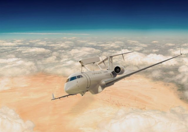 Saab sign a 1 2bn contract with UAE to deliver new airborne Swing Role Surveillance System 640 001