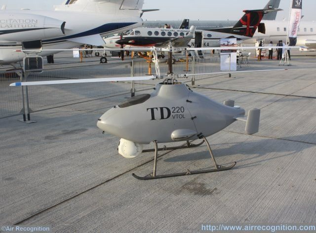 ZHZ TD220 VTOL Unmanned Aircraft System makes debut in Middle East 640 001