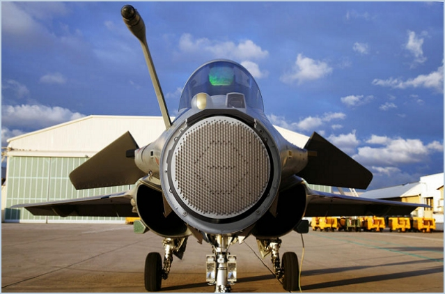 The first of 60 Rafale jet fighters fitted with next-generation RBE2 Active Electronically Scanned Array radar has been delivered to the French military. The Dassault Aviation aircraft, part of the 60-plane fourth production tranche, was given to France's Directorate General of Armaments (DGA).