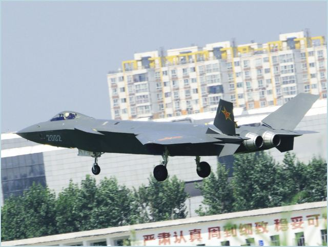 The J-20, China's first fifth-generation stealth fighter designed by Chengdu Aerospace Corporation, may enter production on a small scale in 2017, after the completion of the aircraft's test flights, according to the Wuhan-based Hubei Daily.