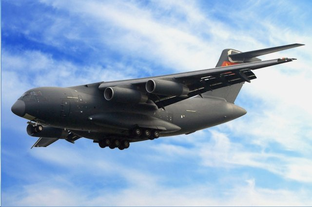 The Y-20, China's first domestically designed large transport aircraft developed by Xi'an Aircraft Industrial Corporation, is likely to enter service with the People's Liberation Army in the next two years, Chinese newspaper People's Daily reported on Oct. 16.