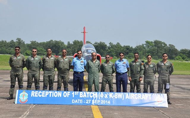 Bangladesh Air Force on Saturday, September 27, has inducted to its fleet four K-8W fighting/training aircrafts bought from China. The Inter Services Public Relations Directorate (ISPR) says those were bought as part of the government's effort to modernise Bangladi air force.