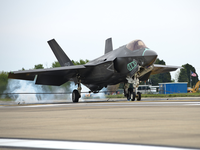 In three separate flight tests on May 27, Lockheed Martin F-35 Lightning II aircraft demonstrated air-to-air combat capability, completed the first flight test with the next level software load and accomplished a landing at the maximum test speed and drop rate.