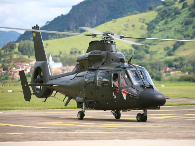 The first two upgraded AS365 Panther K2 rotorcraft will be delivered this month by Airbus Helicopters' Helibras subsidiary to the Brazilian Army Aviation Command (AvEx), providing a modernized platform with more power, updated avionics and increased mission capability.