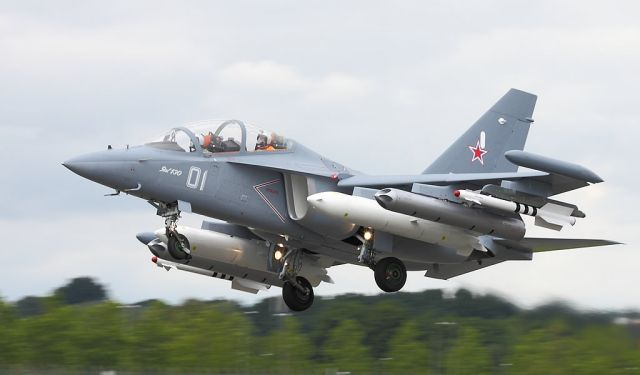 The Russian Air Force's training air base located in Armavir will receive more than 20 Yak-130 combat training aircraft before the end of this year. The engineers have already accepted five new trainers to be delivered to the base before the end of this week, according to a statement made by Col. Igor Klimov, a spokesman for the Russian Air Force.